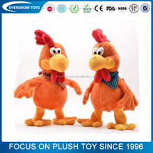 2017 new crazy red chicken toy with music