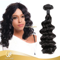 New! Spanish Curl Brazilian 100 % Hair Extensions Double Drawn Weft