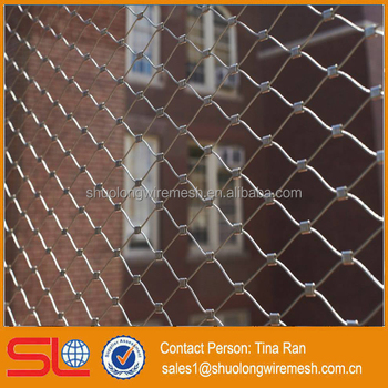 Stainless steel 304 hand woven flexible stainless steel cable mesh