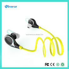 High quality neckband bluetooth headsets mobile phone watch bluetooth stereo voice earphones with low price