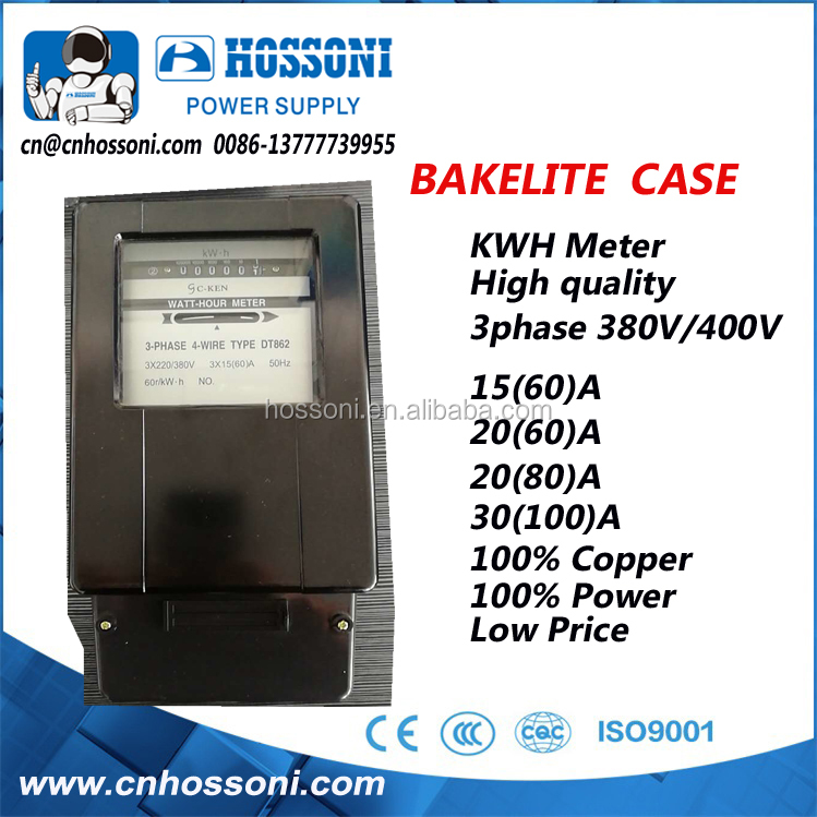 BAKELITE, DT862,KWH METER,30-100A, FOR HIGH TEMPERATURE
