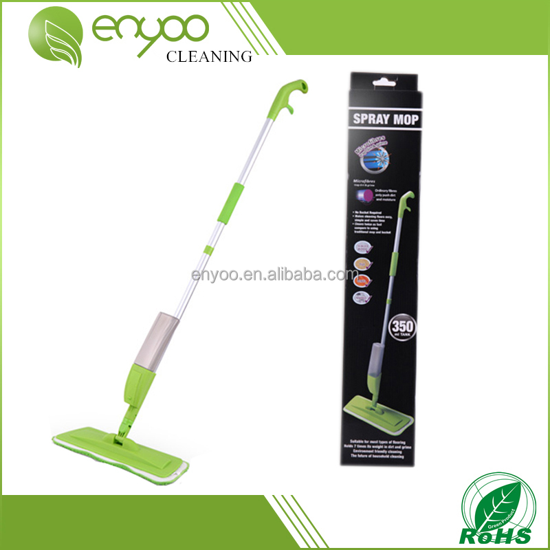 Magic and healthy cleaning microfiber telescopic aluminum water spray mop as seen on tv