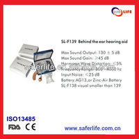 2013 china factory price promotional gift mini BTE ear Hearing aids amplifer sound CE and FDA approved
