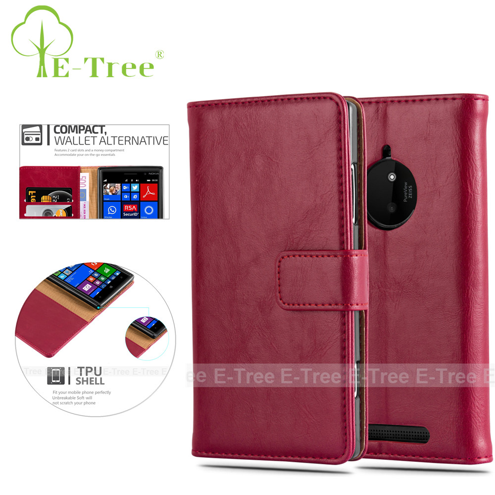 PU Leather Wallet Flip Cover For Nokia Lumia 830 Case, For Lumia 830 Leather Case Luxury