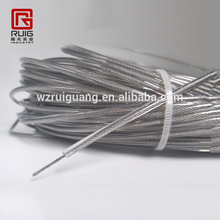 Stainless Steel 304/316 Wire Rope, Vinyl Coated, 7x7 Strand Core
