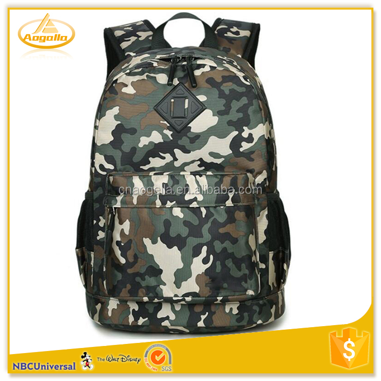 Custom Hiking Backpack China School Backpack Canvas Material And Handled Style Bag