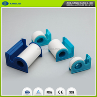 disposable non-woven adhesive microporous medical tape dispenser