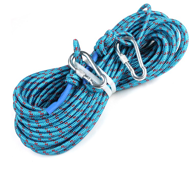 polyester safety rope outdoor braided rescue life rope