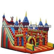Huge design and durable inflatable slip and slide for sale