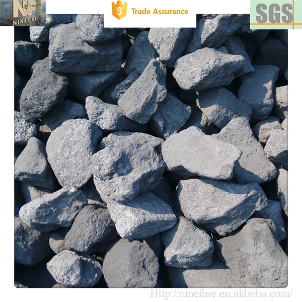High foundry coke type carbon mineral coke for steel smelting and casting application