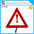 42cm Side Length emergency tools traffic warning triangle with E-mark