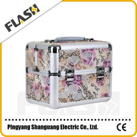 Good Quality Hard Frame Beauty Makeup Case Aluminum Cosmetic Box