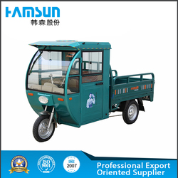three wheeler moped cargo trike/tricycle/ truck with cabin
