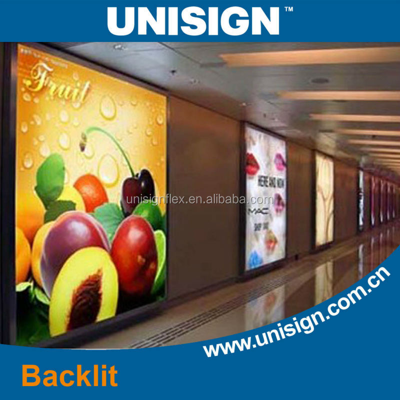 Unisign Professional Experience Hot Selling Sublimation Digital Printing Backlight Material