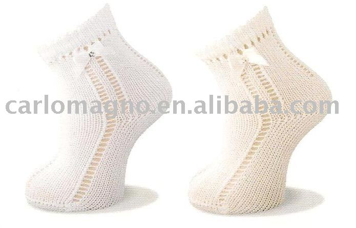 good design pelerine baby lace socks