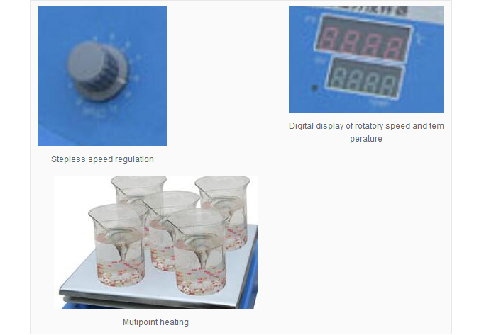 Reactant Mix Uniformly Mini Magnetic Stirrer Stir Supplier
