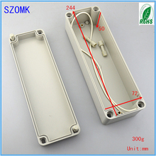 Project Box Type IP66 Plastic Waterproof Enclosure as Electronical Switch Outer Shell and PCB Cabinet of 70*80*250mm