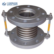 stainless steel metal bellows compensator pipe expansion joint