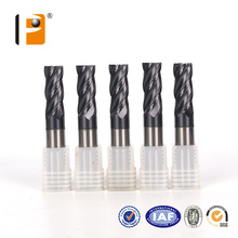 HRC 58 High quality Solid Carbide end mill cutter For steel cutting