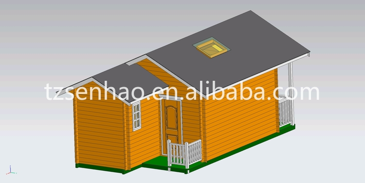 easy install and low cost small wooden house india price design prefab house