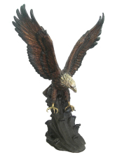 decoration animal metal craft bronze outdoor eagle statues
