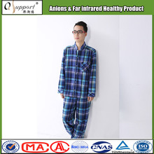 Qsupport new shirts leisure wear for men with negative ions and far infrared