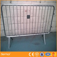 hot dipped galvanized after welded metal barrier road gate with ISO