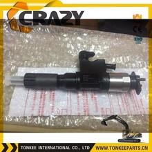 095000-6360,4HK1 fuel injector for ZX200-3, excavator spare parts,ZX200-3 fuel injector
