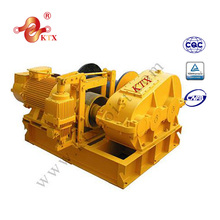 JK fast line speed 5000kg electric wire rope winch