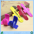 Factory supply derectly colorful 3M adhesive mobile phone holder in butterfly shape for decoration