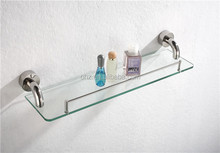 2505 wall mount glass shelves and shower caddy for single glass shelf