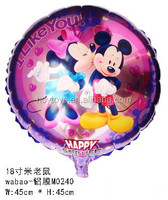 Mickey Mouse TV Cartoon inflatable Character foil Helium Balloons for Birthday Party Decoration