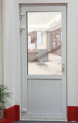 full panle and frosted glass Upvc bathroom door with glass door philippines prices