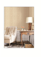 Loren 3d non- woven indoor decorative wallpaper from china MOQ 1 roll