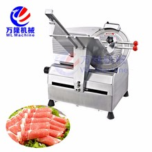 Manufacture Hotel Commercial Electric Semi Automatic Industrial Frozen Meat Slicer