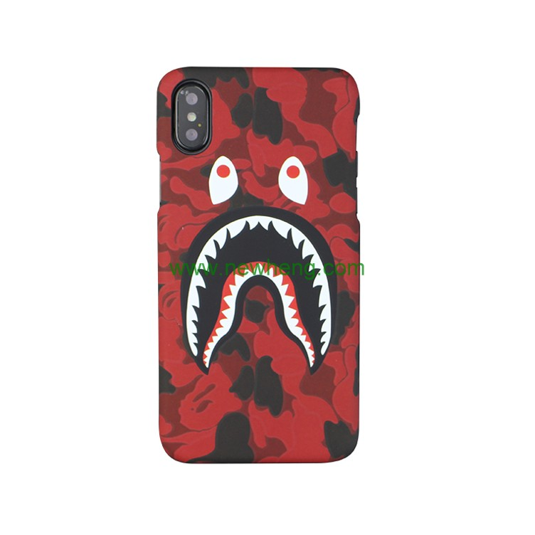 New Stylish Design Camouflage soft TPU phone Case for iPhone X