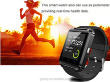 The popular u8 smart watch for android and ios mobile phone
