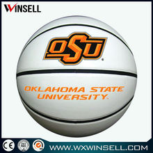 Best promotional laminated advertising basketball ball