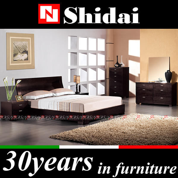 B58 flat bed frame / custom made bed / wooden bed room furniture
