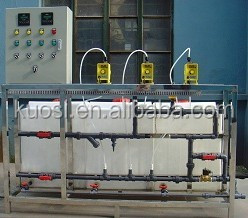 acid-base neutralization circulation water chemical dosing system