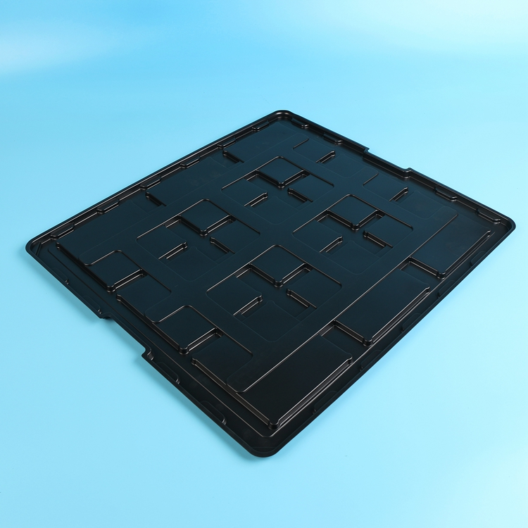 Wholesale Anti-static PS electronic components plastic packing trays