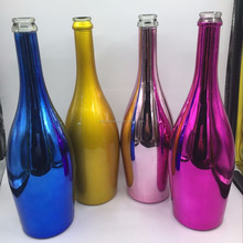 Hot selling champagne bottle,750ml brown/black glass champagne wine bottle for party gift wholesale