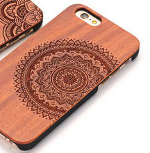 Luxury Natural Wooden Wood Bamboo Case For Apple iPhone 6