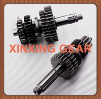 Drive and Counter Gear Shaft for Motorcycle Part