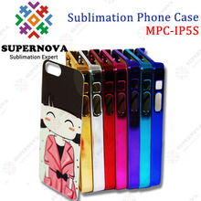 High Quality Sublimation Electroplate Color Phone Case for iPhone 5 5S