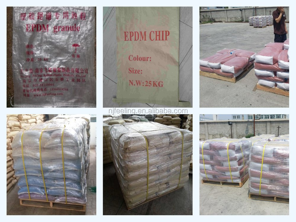 epdm granules mixing pu binder for basketball/volleyball/football surfaces-g-y-170504