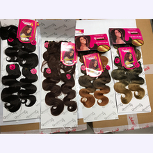 Modern design wholesale synthetic hair for black women made in China fashion weaving extension