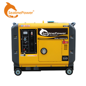 Japan Technology Air Cooled Portable Super Silent Type Diesel Generator Low Noise 68Db For Home Use