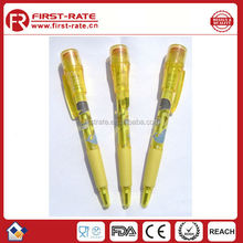 2015 New Fashion promotional plastic ballpoint pen for kids