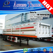 8 Tubes Quantity Liner OD 559MM Long Tube Semi CNG Tube Trailer